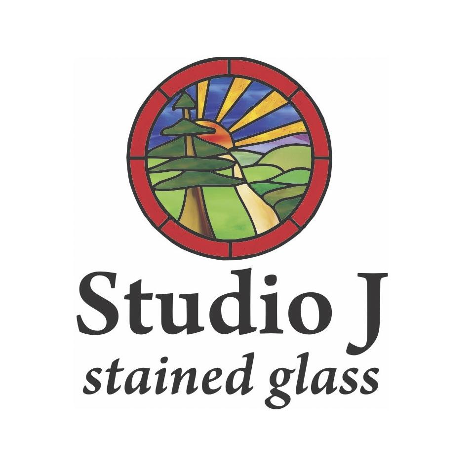 Studio J Stained Glass logo