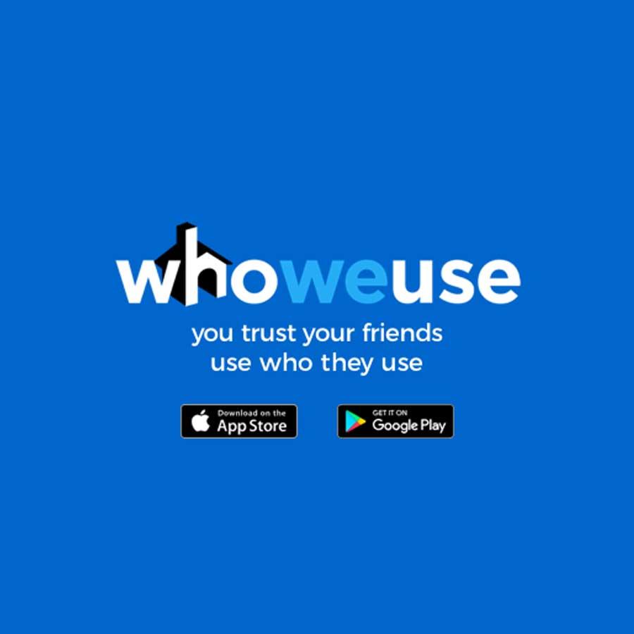 Who We Use logo