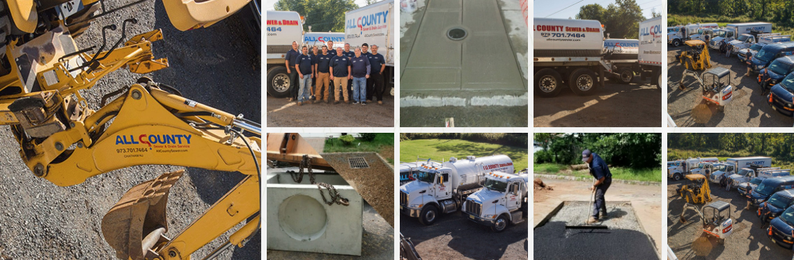 All County Sewer work photos