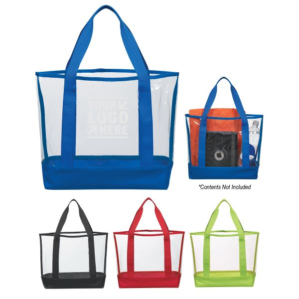 Resource Home Show clear casual tote bag
