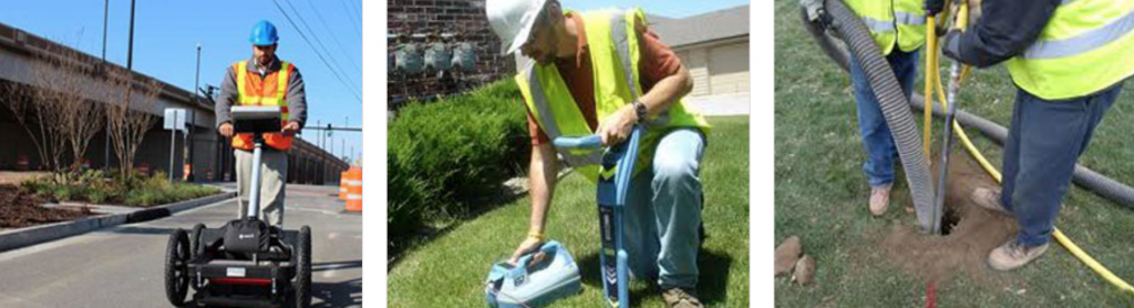 GPR One Call work images