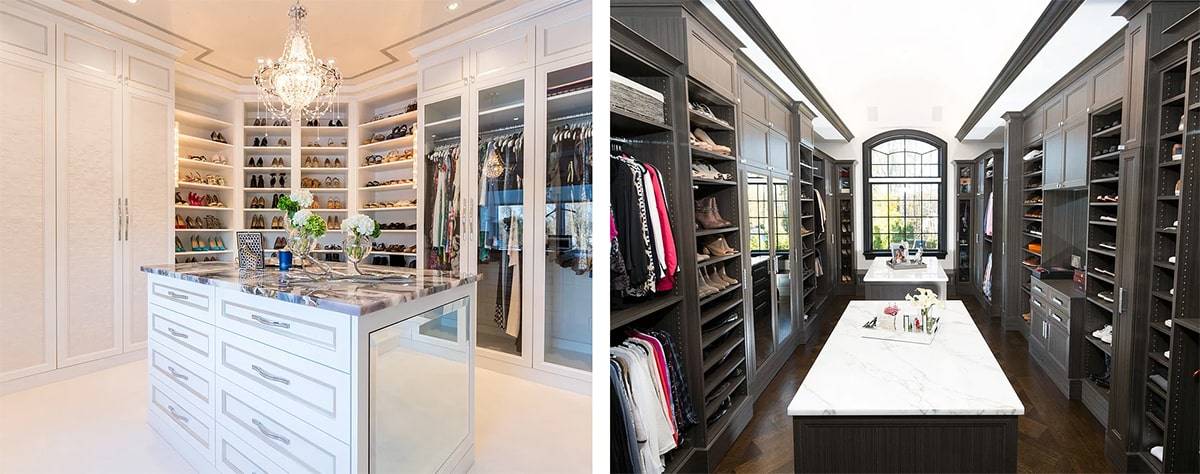 boutique closets example images